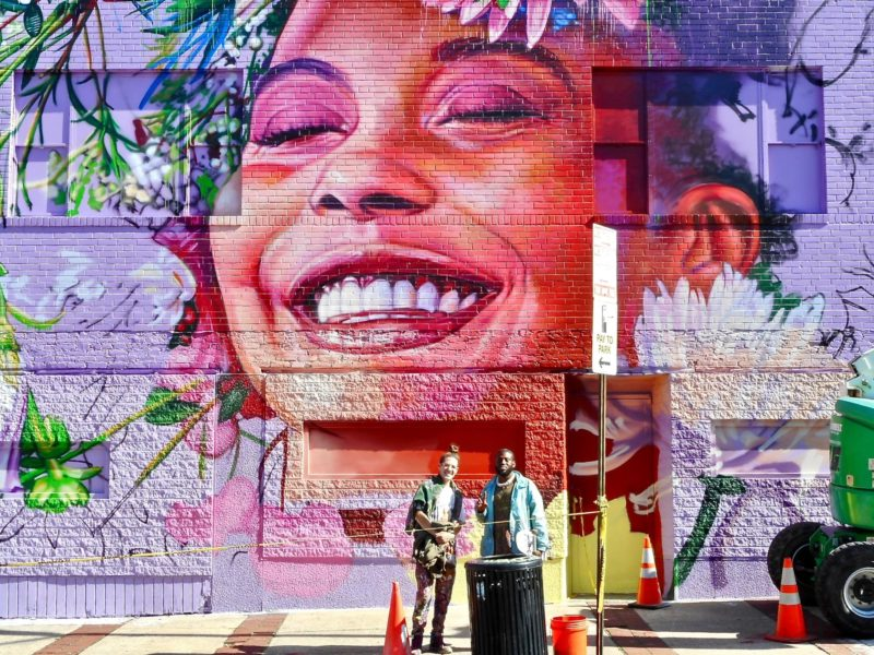 What is mural painting